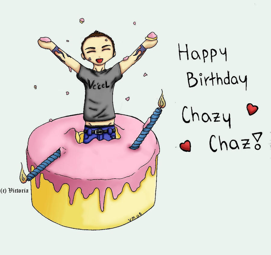 Happy Birthday Chaz Cake