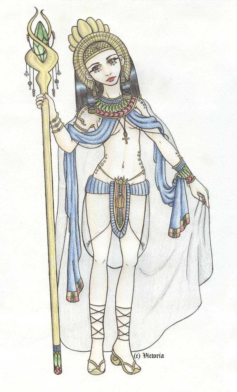 egyptian queen drawing - photo #26