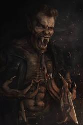 Portrait of a Curse by vincentjongman