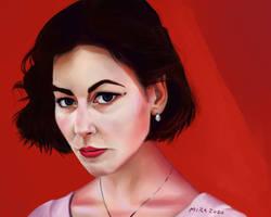 portrait painting 6/10/20