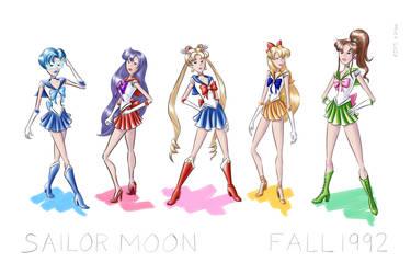 Sailormoon Fashion Sketches