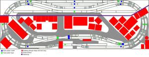 German 1920-40's Tramway plan
