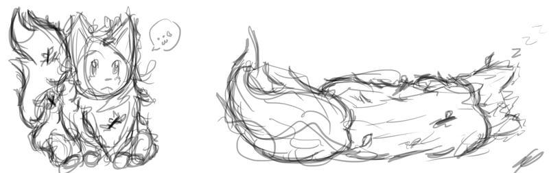 Fuzzy Sketch by DentistChicken