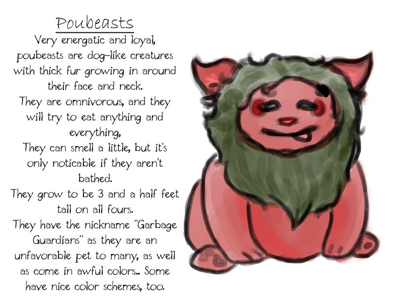 Poubeasts by DentistChicken