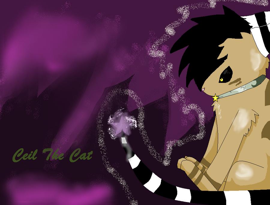 Ceil The Halloween Cat by Lovestarwarrior