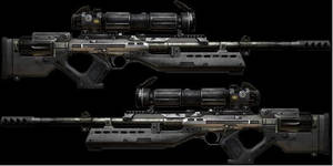 Sniper rifle by Kidd-The-Flounder