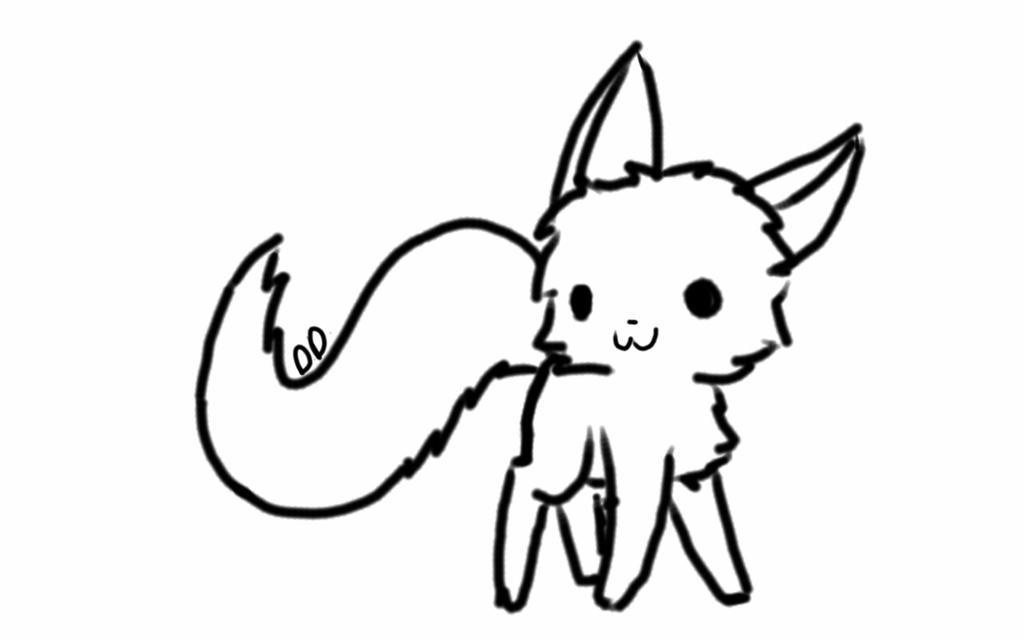chibi cat base by derpydunsparce on deviantart