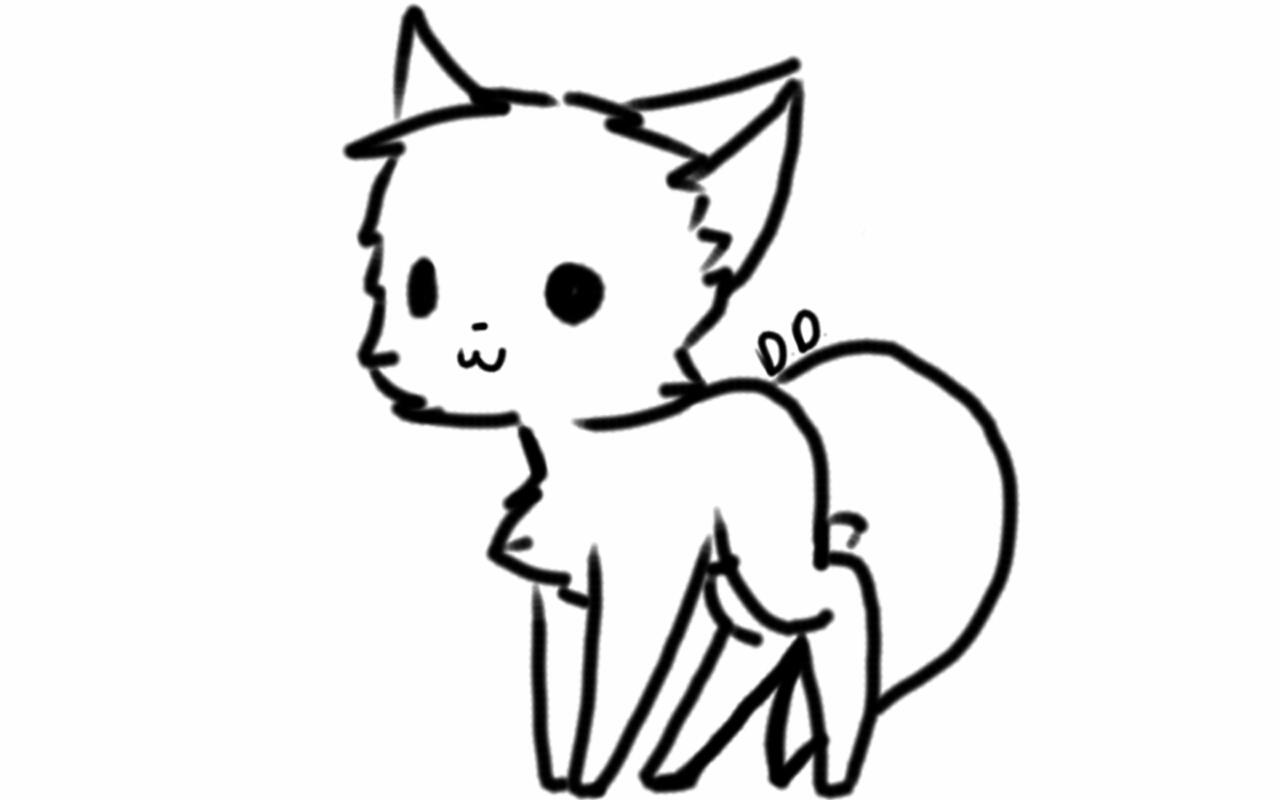 cat saying hello
