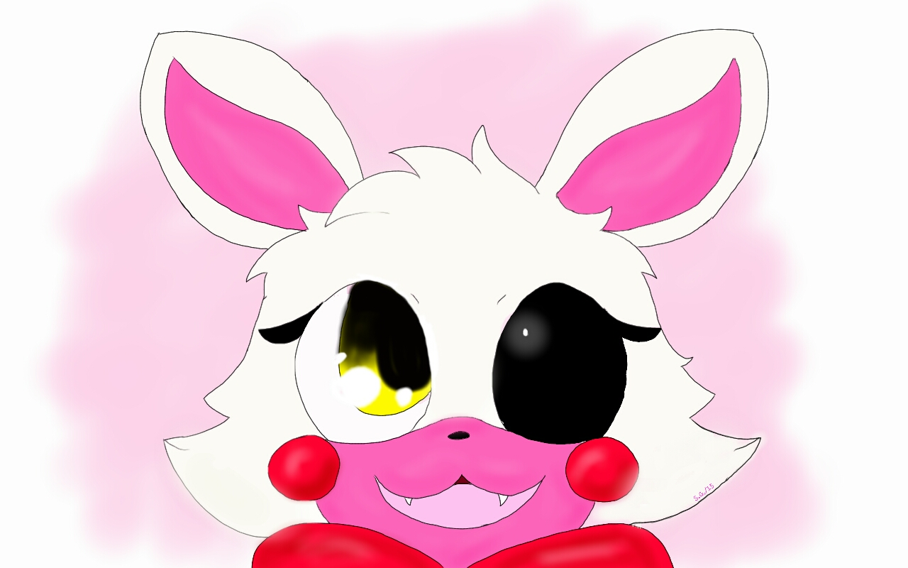 how to draw cute mangle