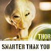 "Stargate SG1 Icon ""Thor"" by haunted-passion"