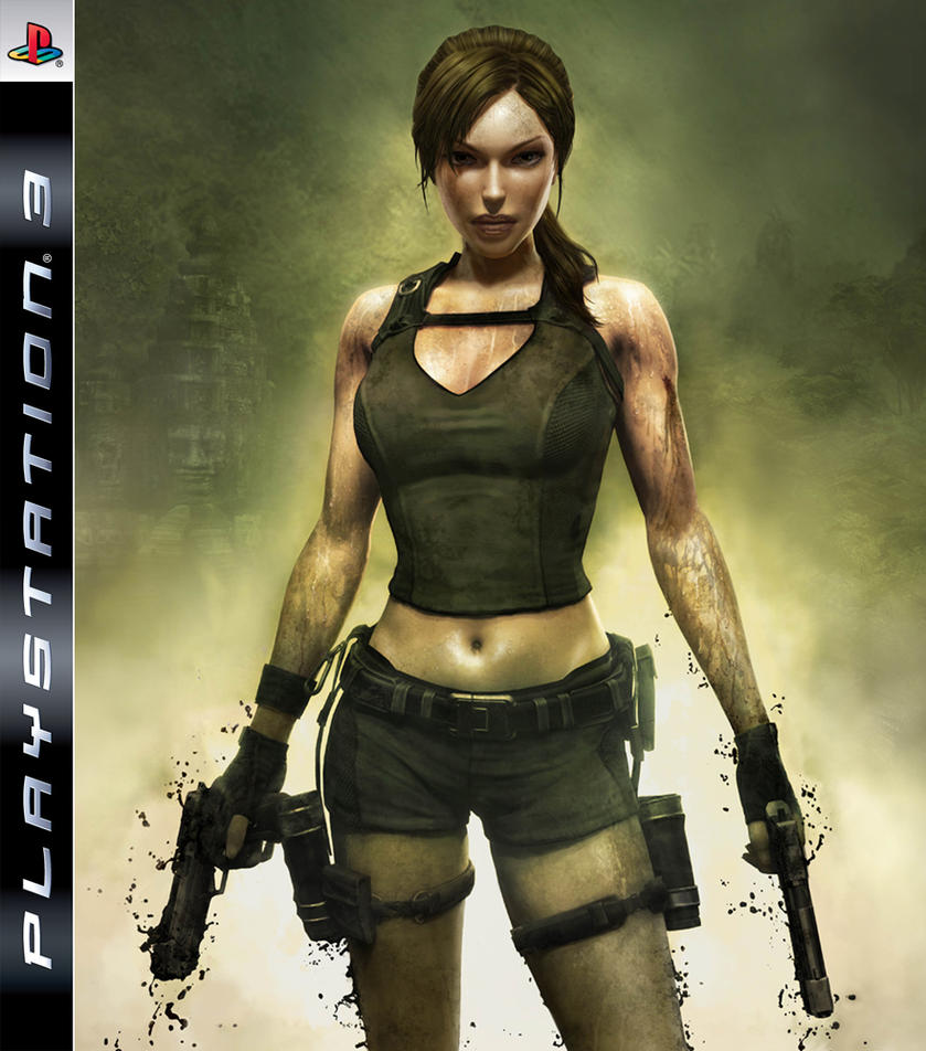 Tomb Rider Wallpaper: TombRaider Underworld PS3Cover By Haunted-passion On