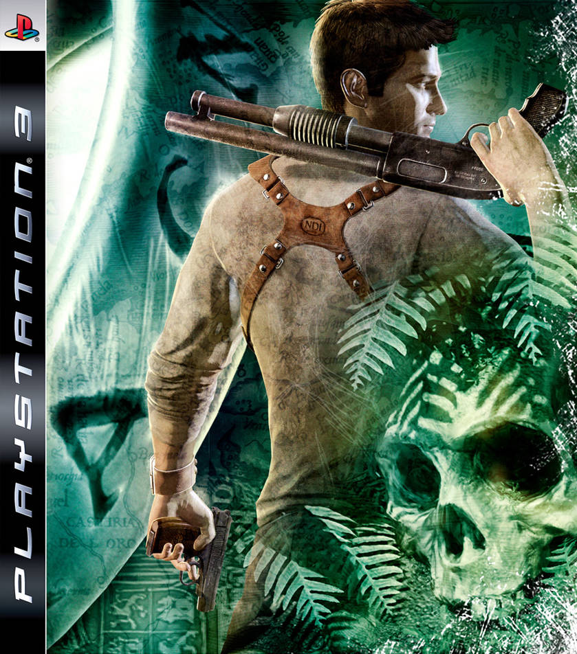 Uncharted Ps3 Cover By Haunted Passion On Deviantart