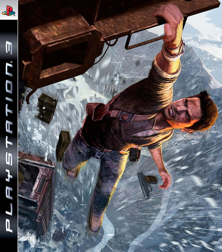 Uncharted 2 PS3 Cover by