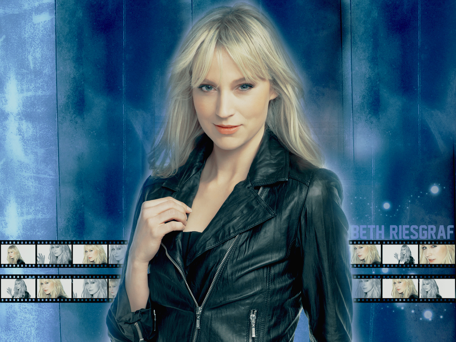 Beth Riesgraf Wallpaper by haunted-passion on DeviantArt