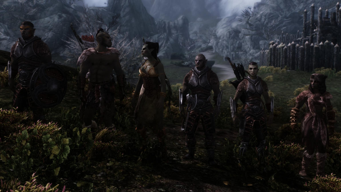 skyrim orc wallpaper - photo #22