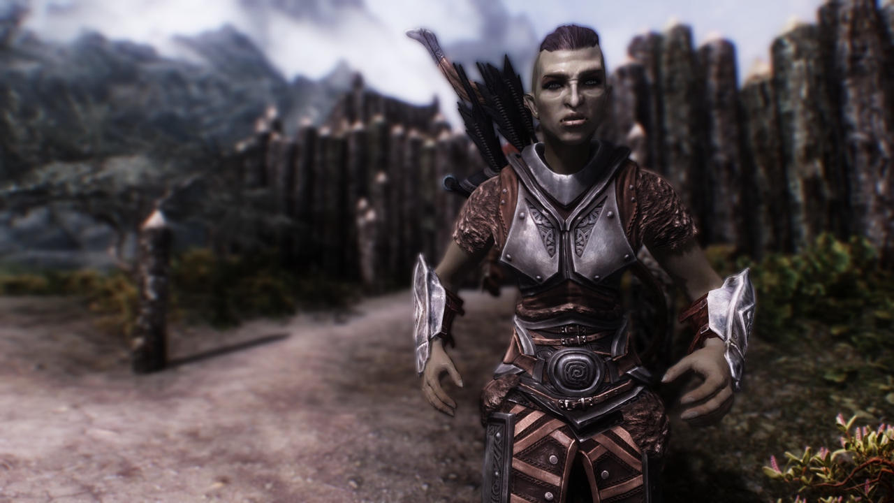 skyrim orc wallpaper - photo #44