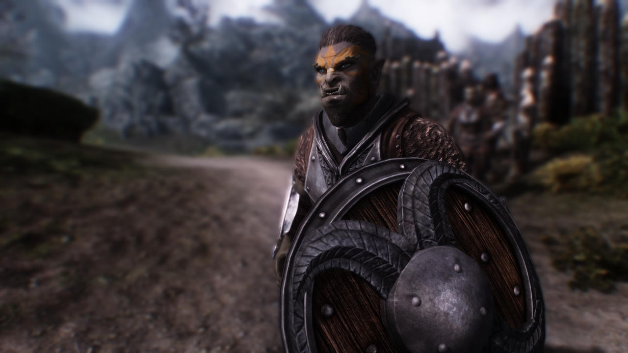 skyrim orc wallpaper - photo #35