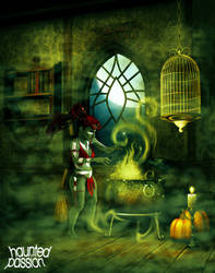 Cooking by haunted-passion