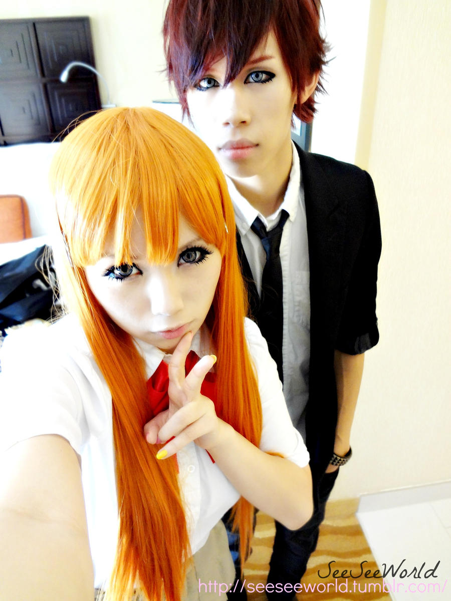 Anime Cosplay Couple by seeseeworld on DeviantArt