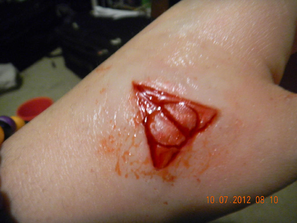 Deathly Hallows Scarification by Biohazard1694
