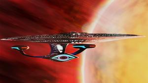 Alternate Galaxy class, Sun flyby