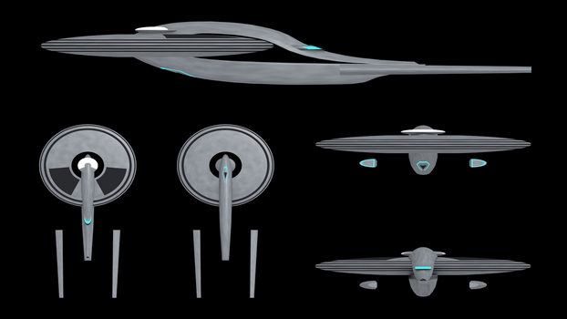 Thoughts on a Discovery season 3 Enterprise.