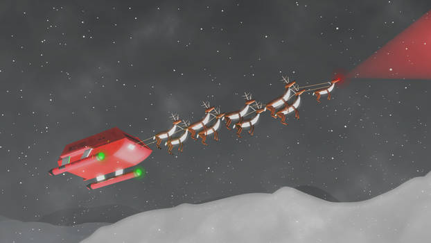 Santa got an upgrade.