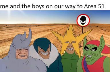 The boys area 51