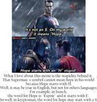 S for Hope in kryptonian