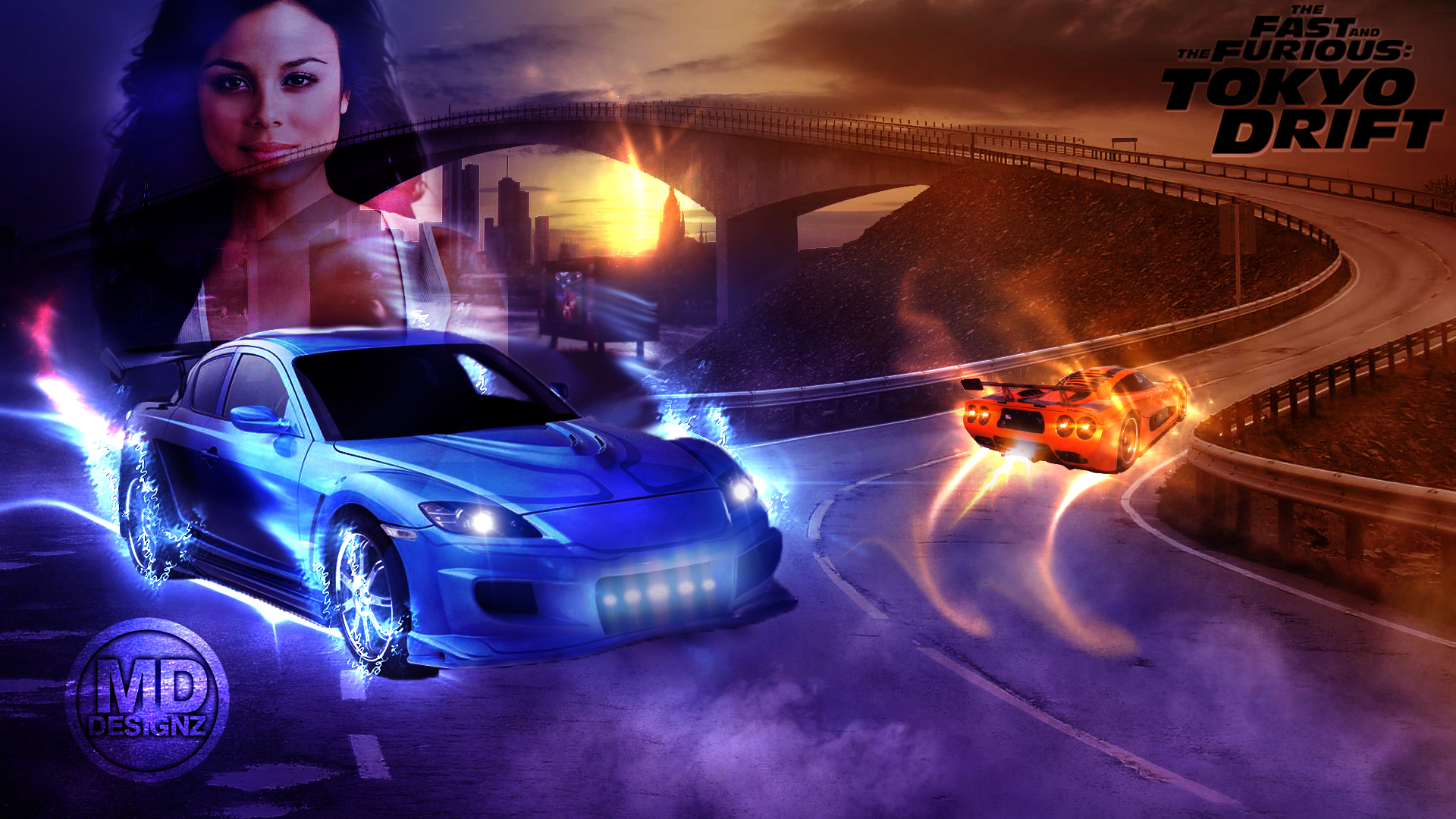 The Fast and the Furious: Tokyo Drift Wallpaper by ...