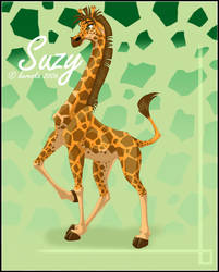 Suzy the giraffe by kery-kereska