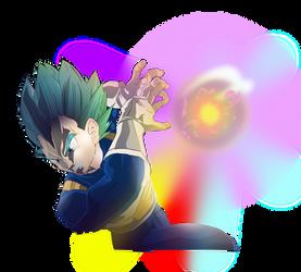 Super Saiyan God Vegeta: Xenoverse Gallick Gun