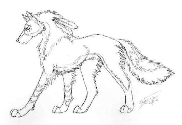 Spirit Wolf by poim