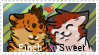 -WVS- Finchfeather x Sweetpaw Stamp by Allizia