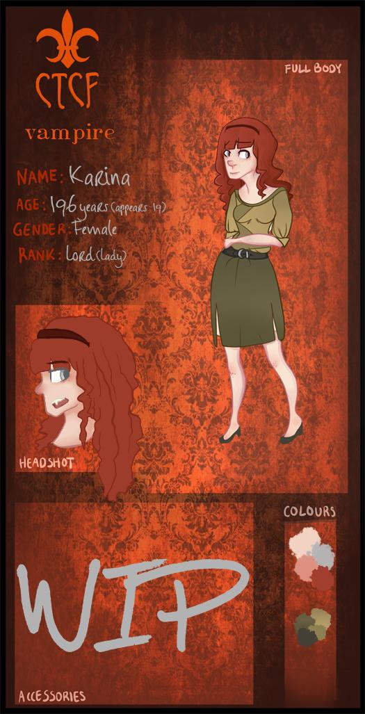-CtCF- Karina Vampire Application by Allizia