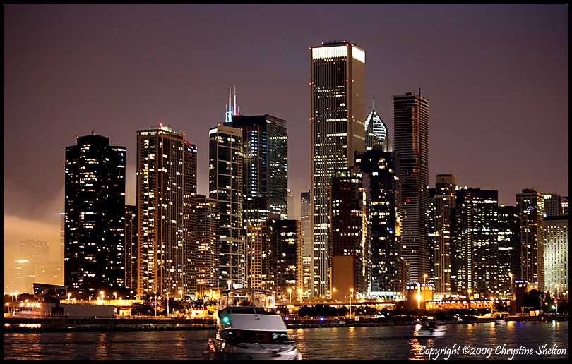 Chicago Skyline by chrystine