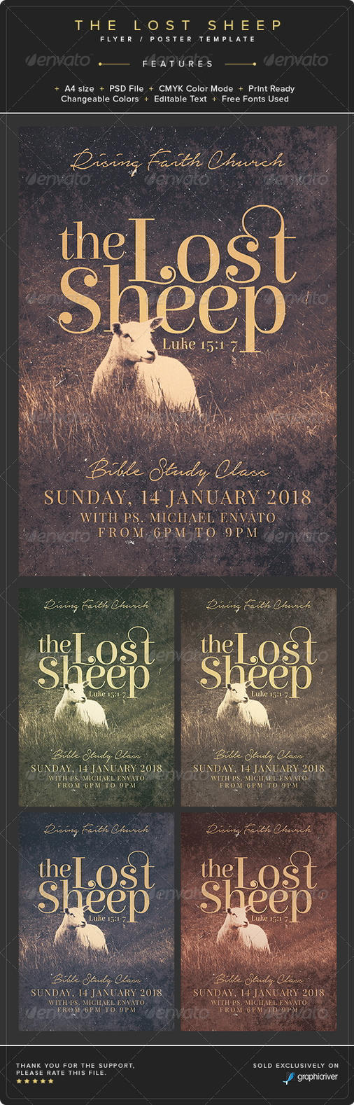 The Lost Sheep Flyer by Junaedy-Ponda