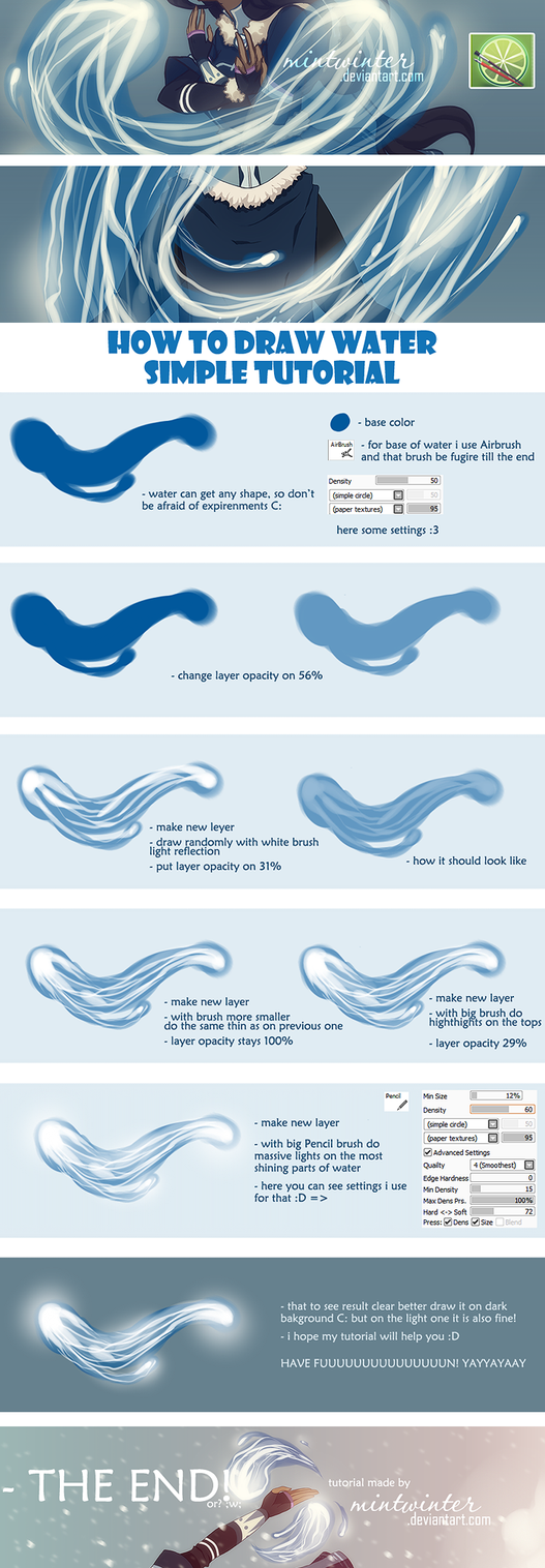 Water Tutorial by mintwinter