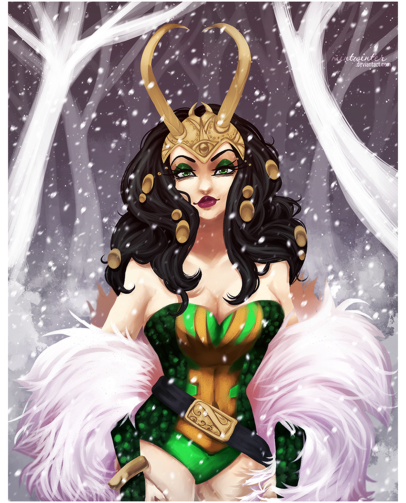 SS: Lady Loki by mintwinter