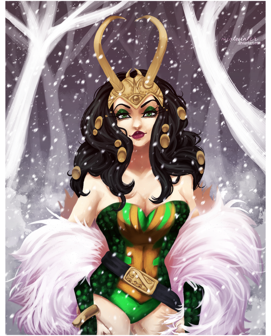 SS: Lady Loki by mintwinter