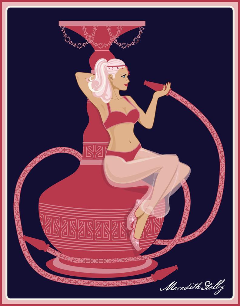 Hookah Genie by MeredithSerena