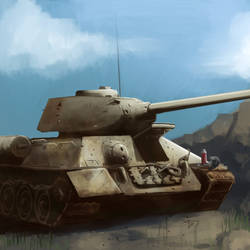 T-34 speed paint