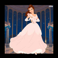 Character Cards - Rose Gold Belle