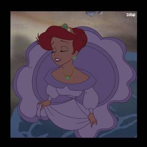 Purple Ballgown Ariel