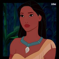 Pocahontas Portrait - Update