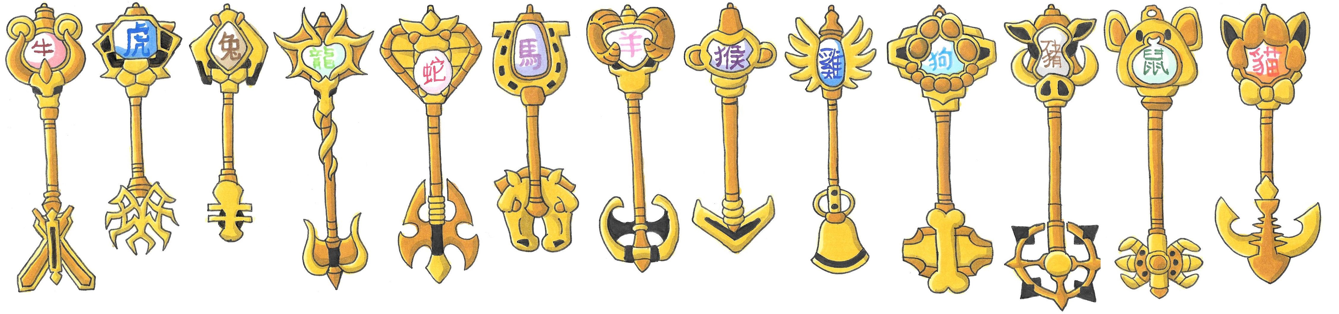 Fairy Tail All Zodiac Keys Bigking Keywords And Pictures