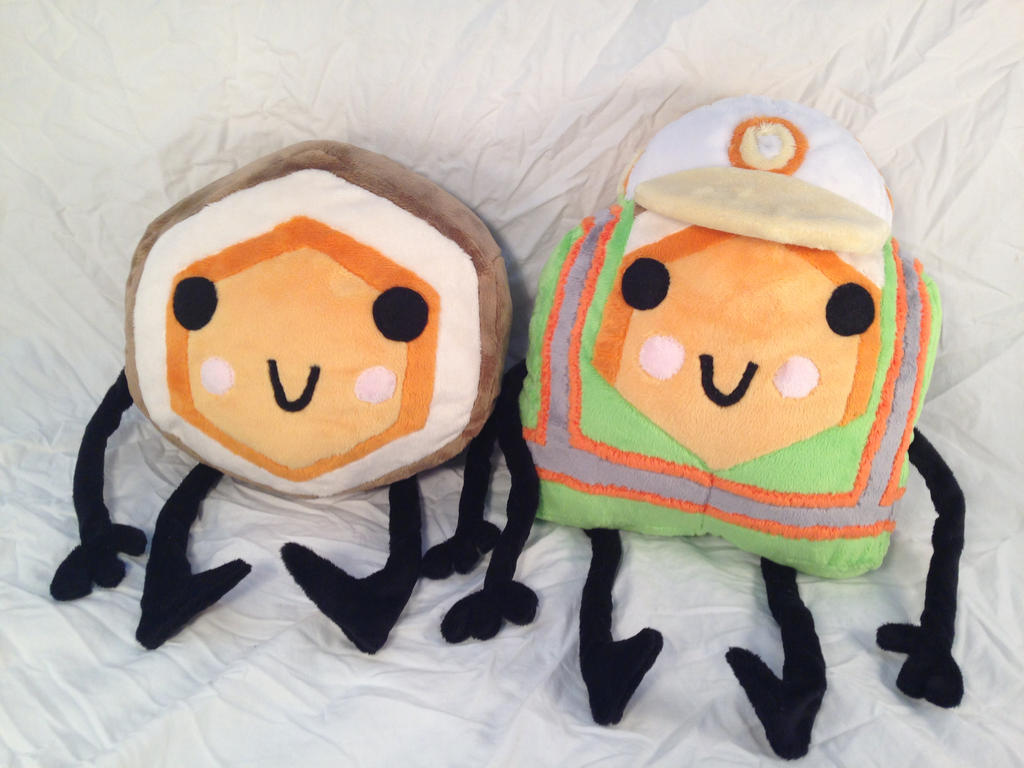 Hexipal Plushies by DizzieDoodles