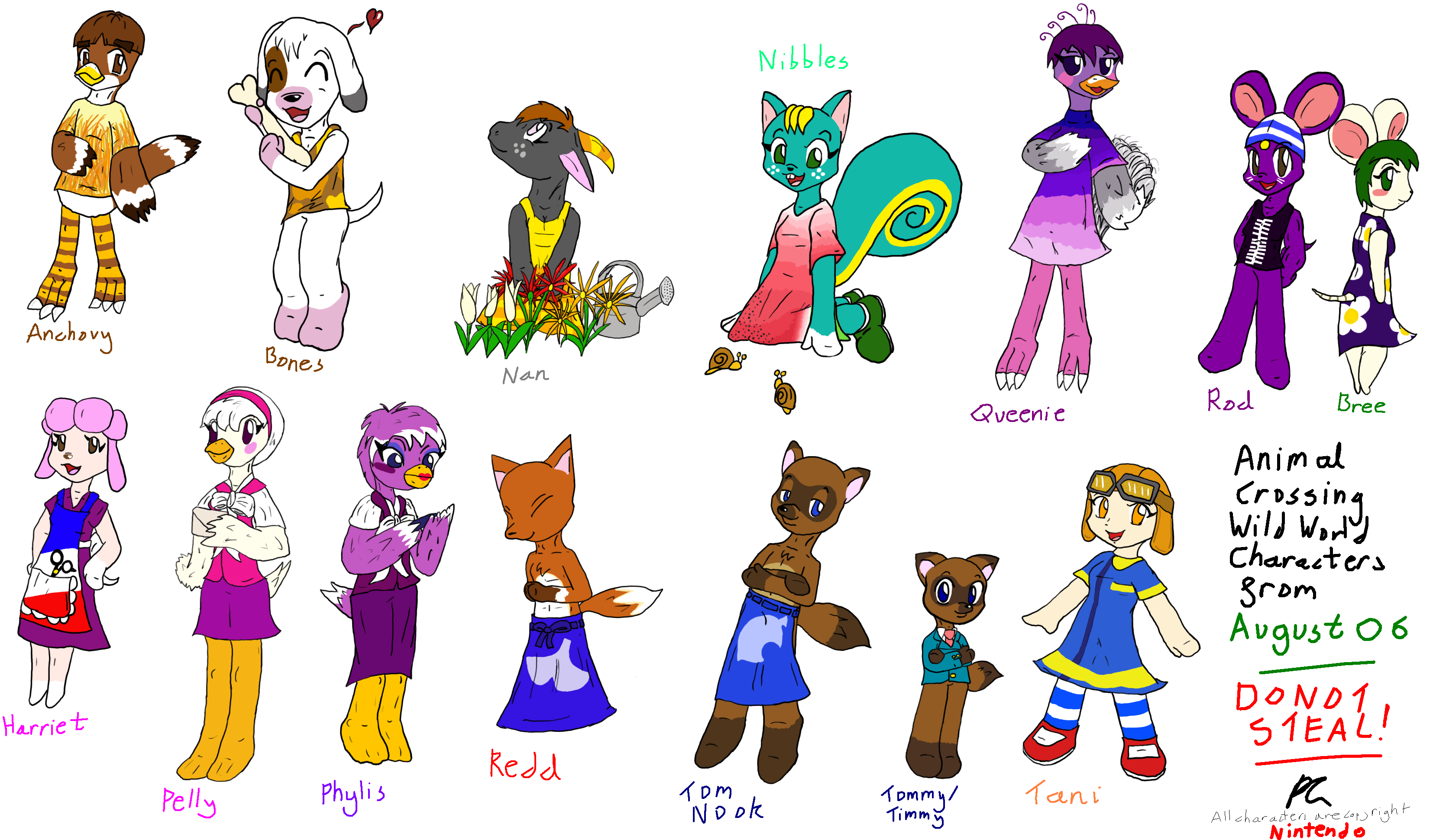 Animal Crossing Wild World 06 By Dizzie Dog On Deviantart