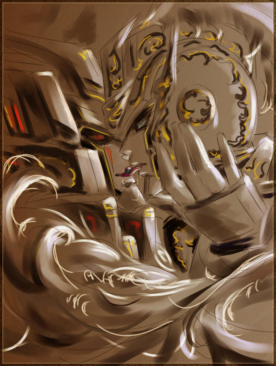 Megatron and Roddy by Aiuke