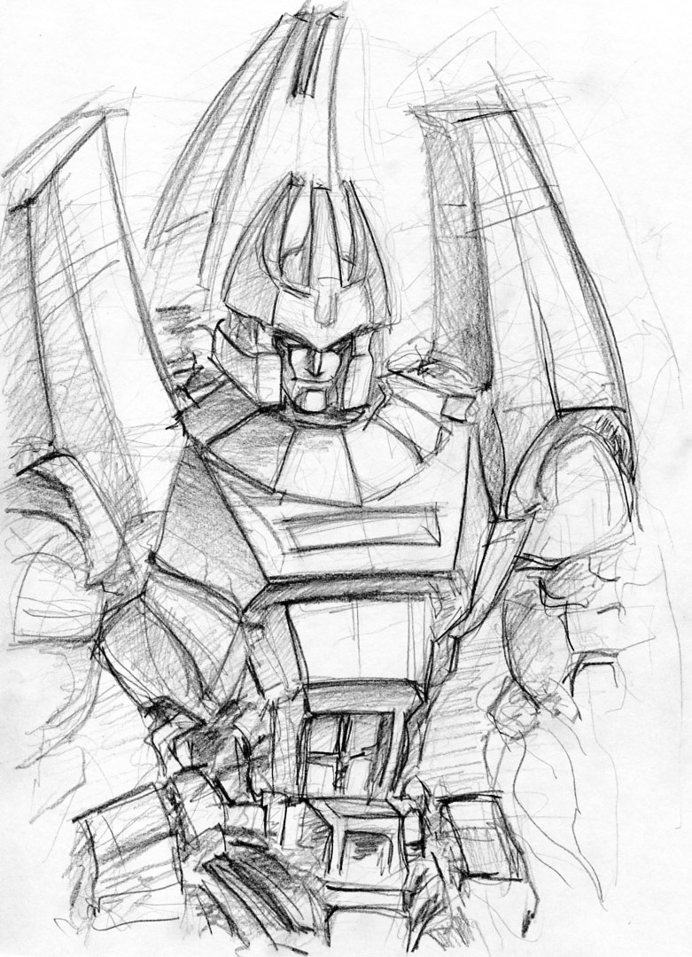 Rough Galvatron by Aiuke